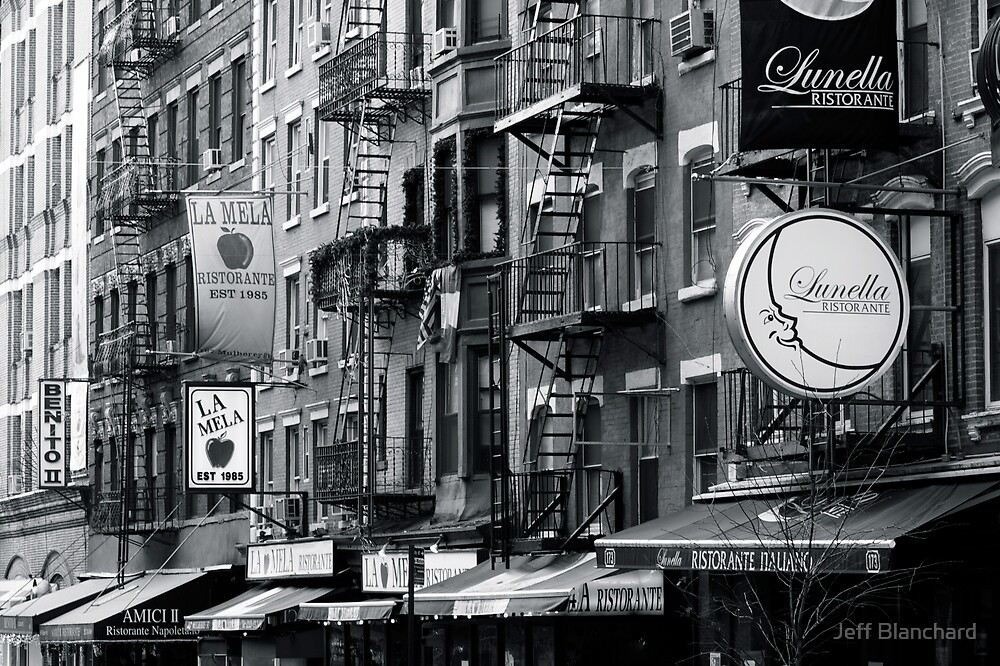Little Italy, New York City by Jeff Blanchard