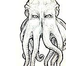 Elder God tentacled Gesicht von shethatisnau
