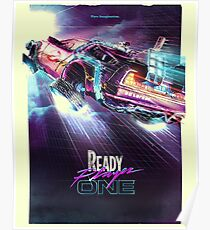 Bereit Player One Future Odyssey Poster