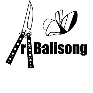 Balisong Tee large by alfalfa
