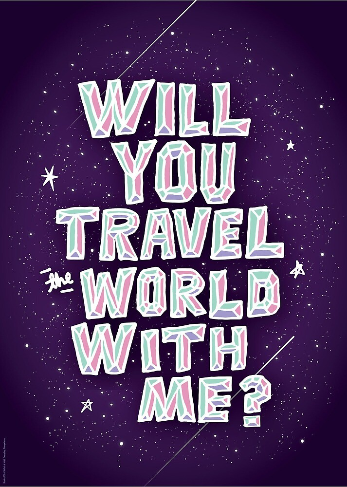 Will You Travel The World With Me? by Syahrulfikri Salleh