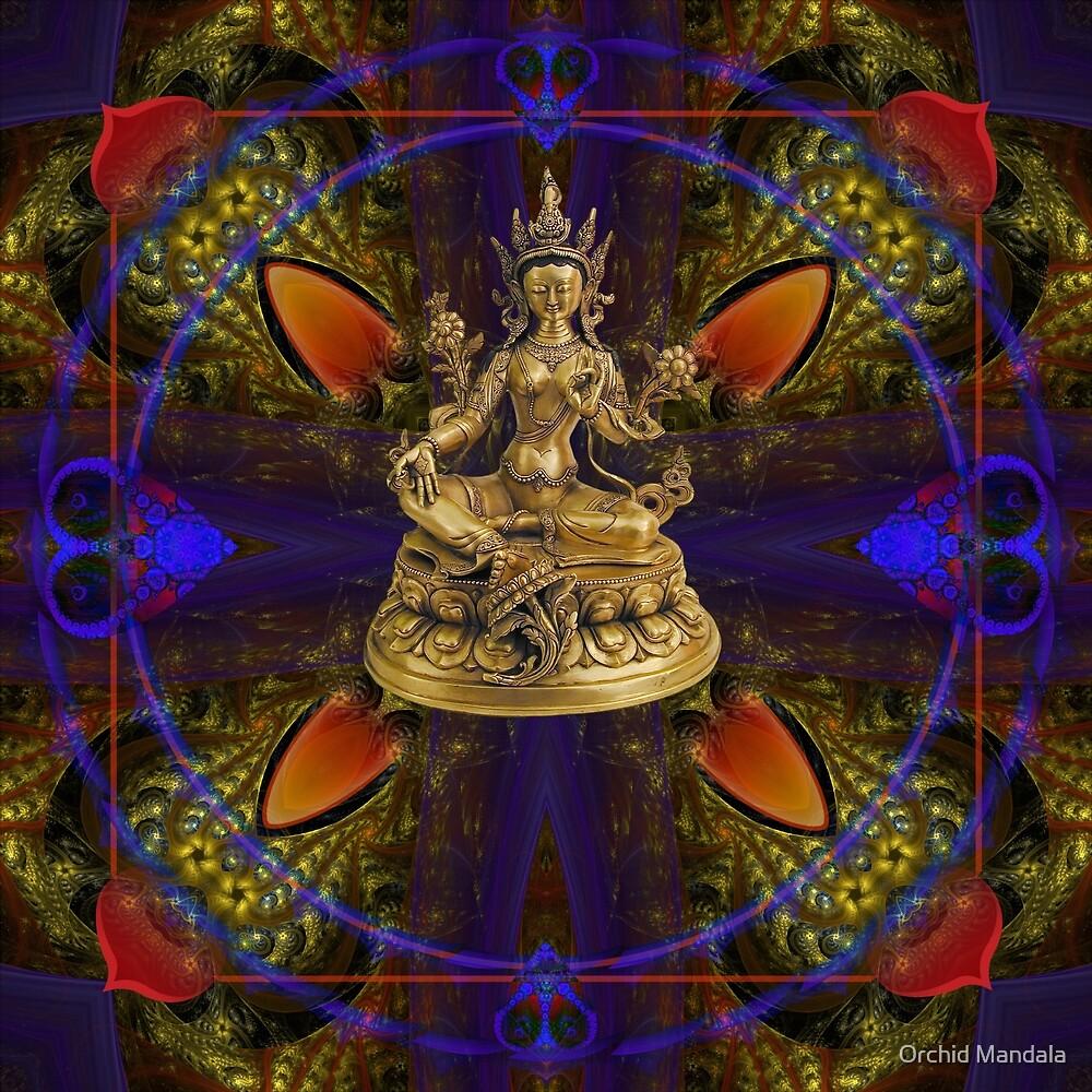 The Love Thanka by Orchid Mandala