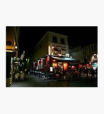Night Streetscape Photographic Print