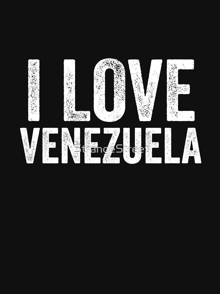 I Love Venezuela by StrangeStreet