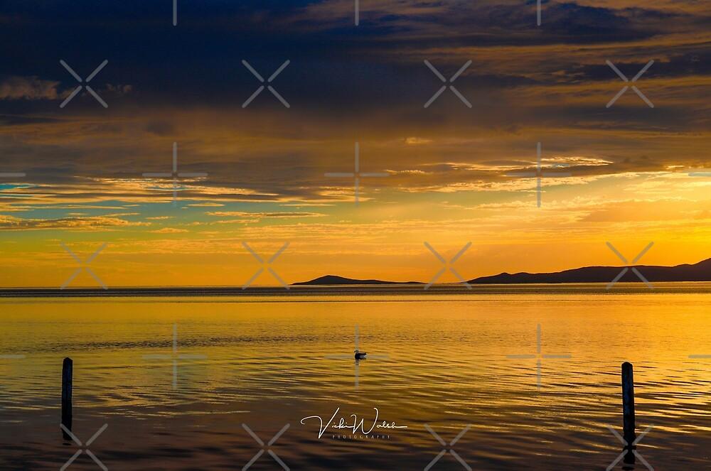 Sunrise at Corner Inlet, Yanakie, South Gippsland by Vicki Walsh