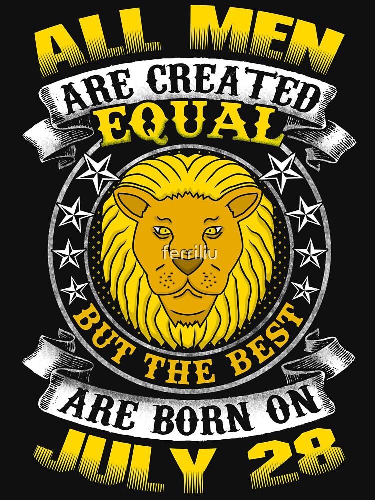The Best Men Are Born On July 28 Leo Zodiac by ferriliu
