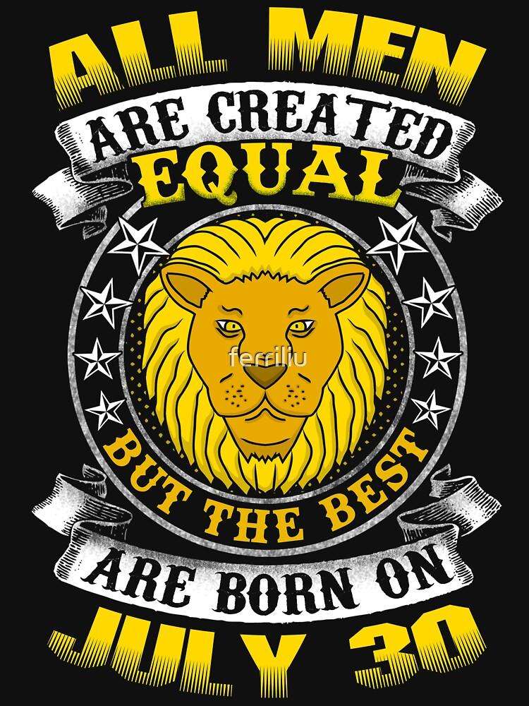 The Best Men Are Born On July 30 Leo Zodiac by ferriliu