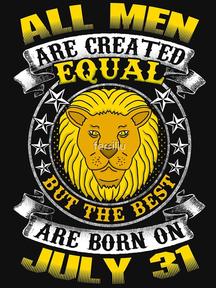 The Best Men Are Born On July 31 Leo Zodiac by ferriliu