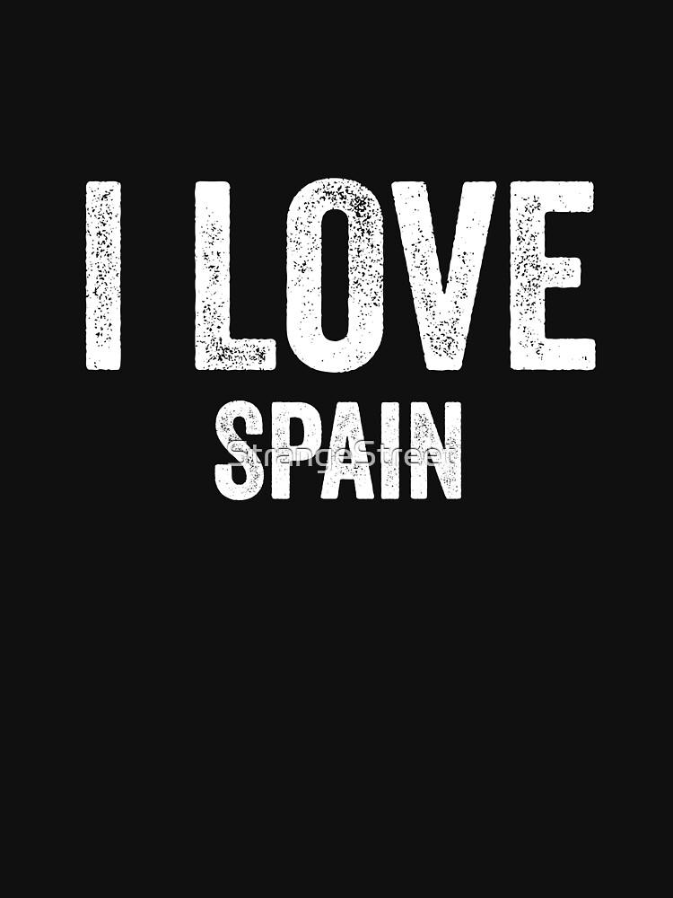I Love Spain by StrangeStreet