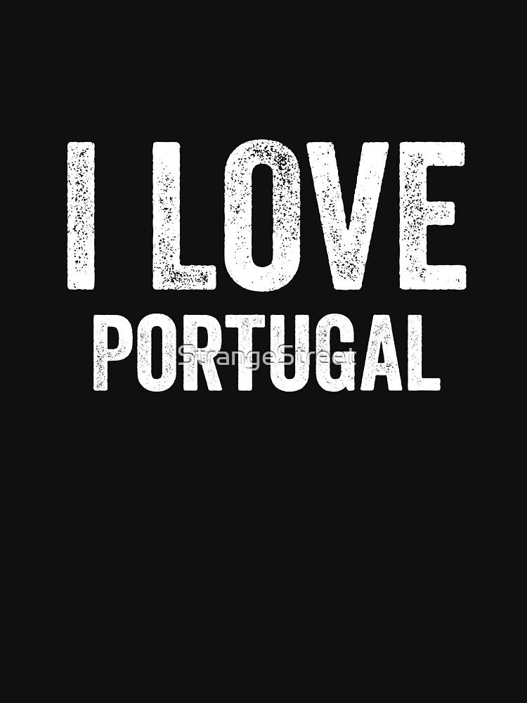 I Love Portugal by StrangeStreet