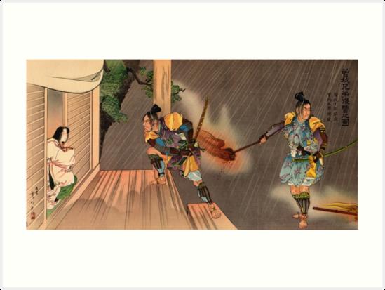 Samurai raid by Fletchsan