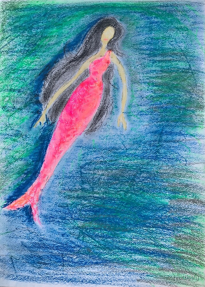 Mermaid by sohiartistry