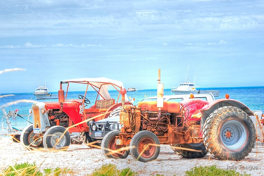 Tractors waiting to tow by jooles1707