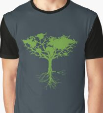 Earth Tree Classic Graphic T-Shirt