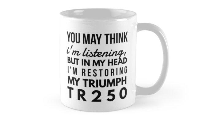 My triumph 250 by CharlyB