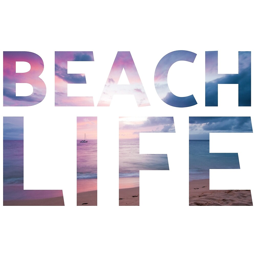 Beach life design by EXCLNT