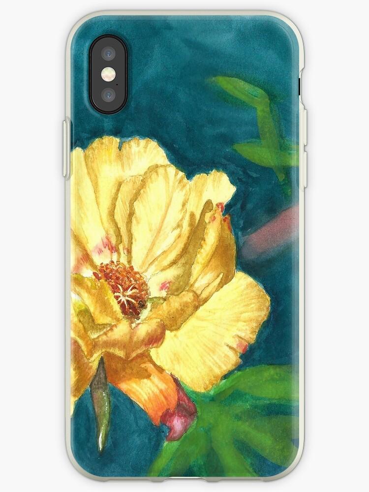Yellow flower by Kardelia