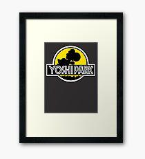 Yoshi's Island Jurassic Park Framed Print