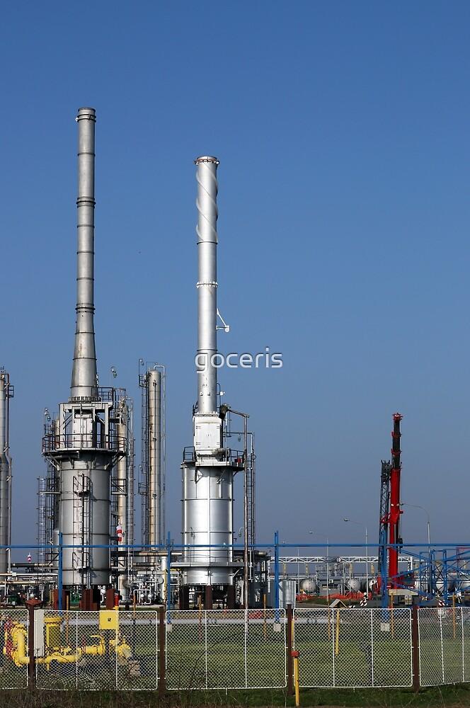 petrochemical plant industry zone by goceris