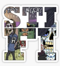 STICKY FINGERS Sticker