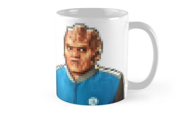 Bortus and Isaac mug by normaniac77