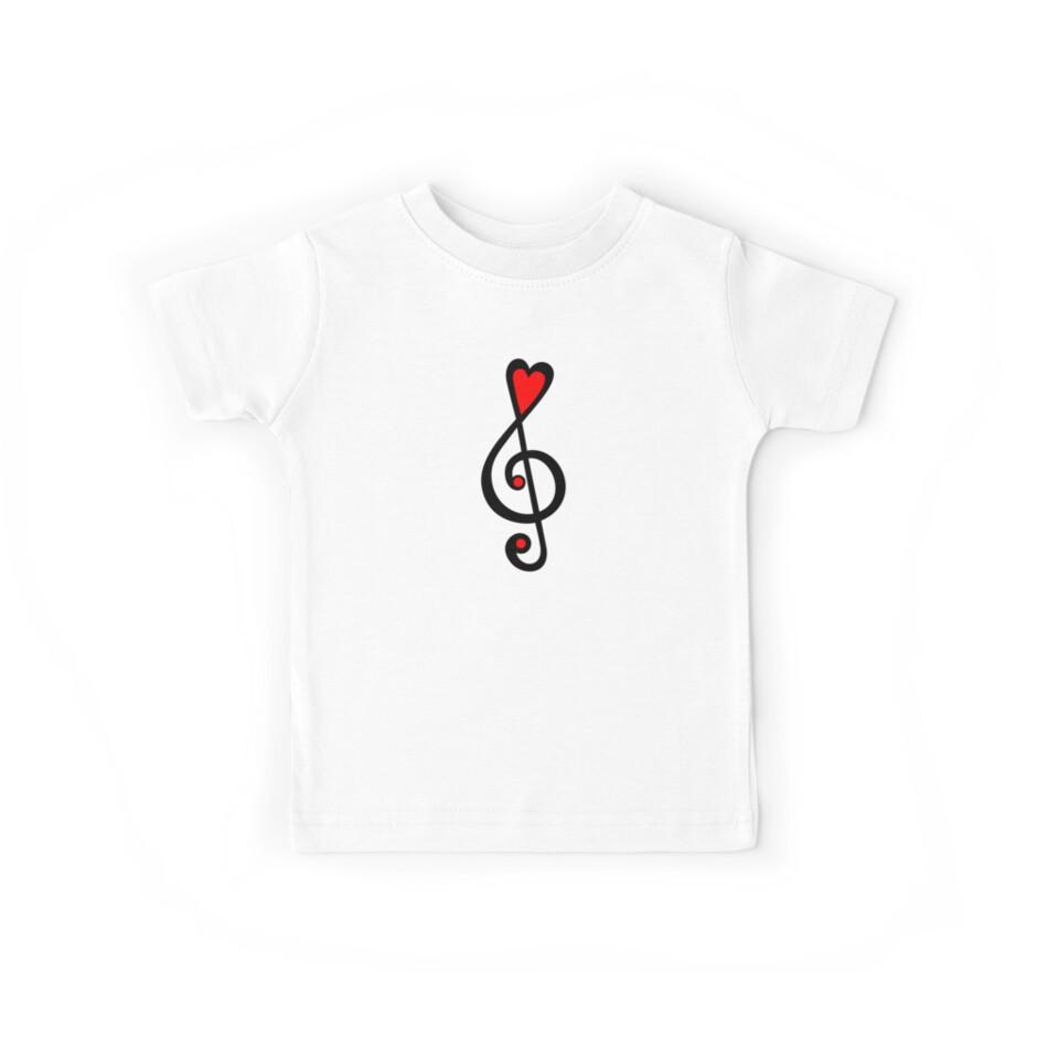 music clef heart love music treble clef classic by anne mathiasz