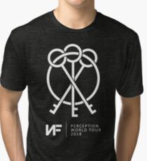 NF PERCEPTION WORLD TOUR Tri-blend T-Shirt