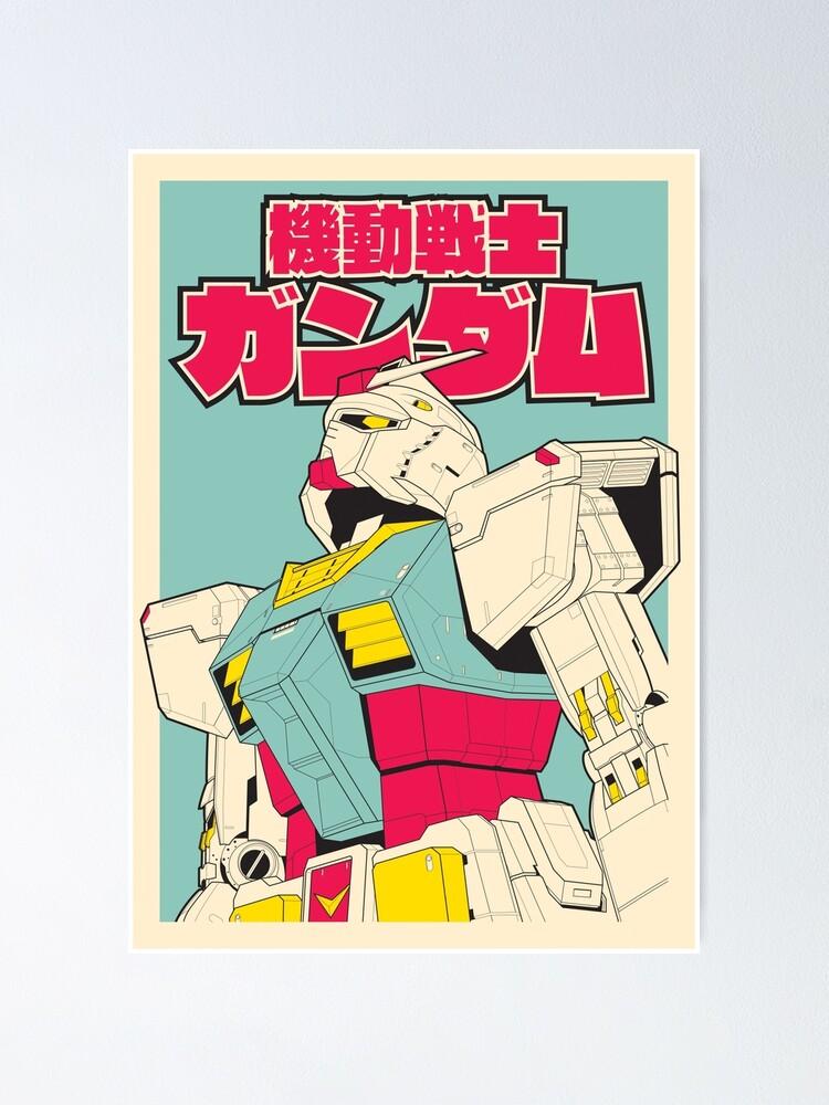Alternate view of RX-78-2 Gundam Poster