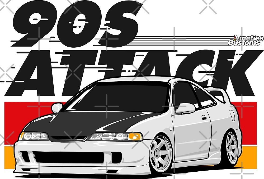 Integra 90s Attack by Ninetiescustoms