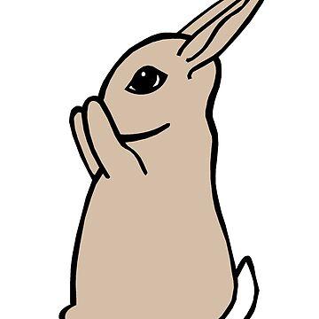 Peek a Boo Bunny by Munnaminx
