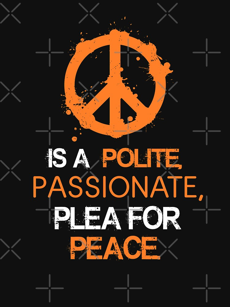 Is A Polite, Passionate, Plear For Peace - National School Walkout  by EcoKeeps