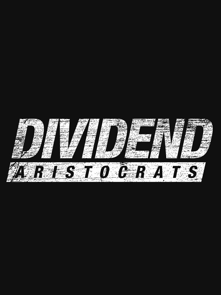Dividend aristocrats share capitalism by GeschenkIdee
