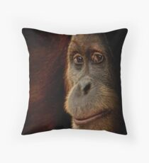 Shadowed Throw Pillow