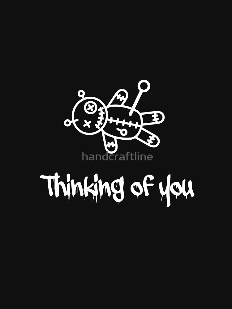 Thinking of you voodoo doll by handcraftline
