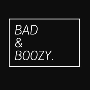 Bad & Boozy Wine Lovers Gift by philanderson19
