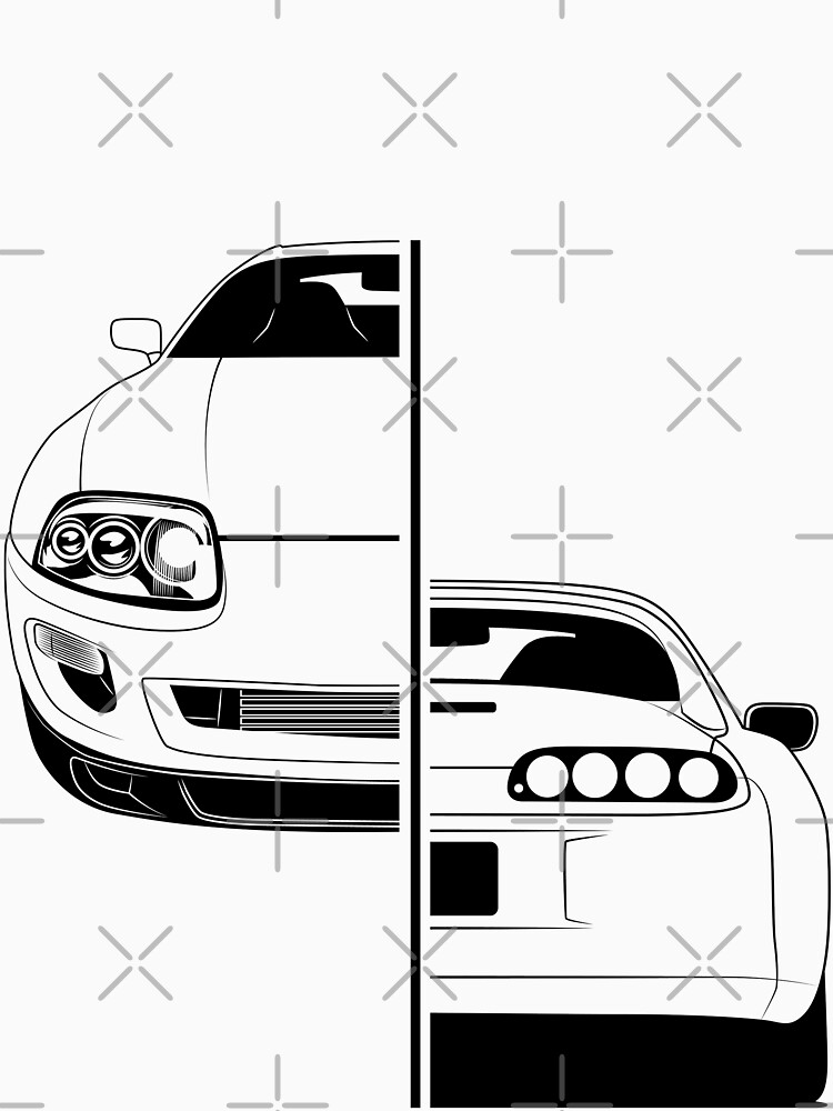 Toyota Supra Mk4 Best Shirt Design by CarWorld