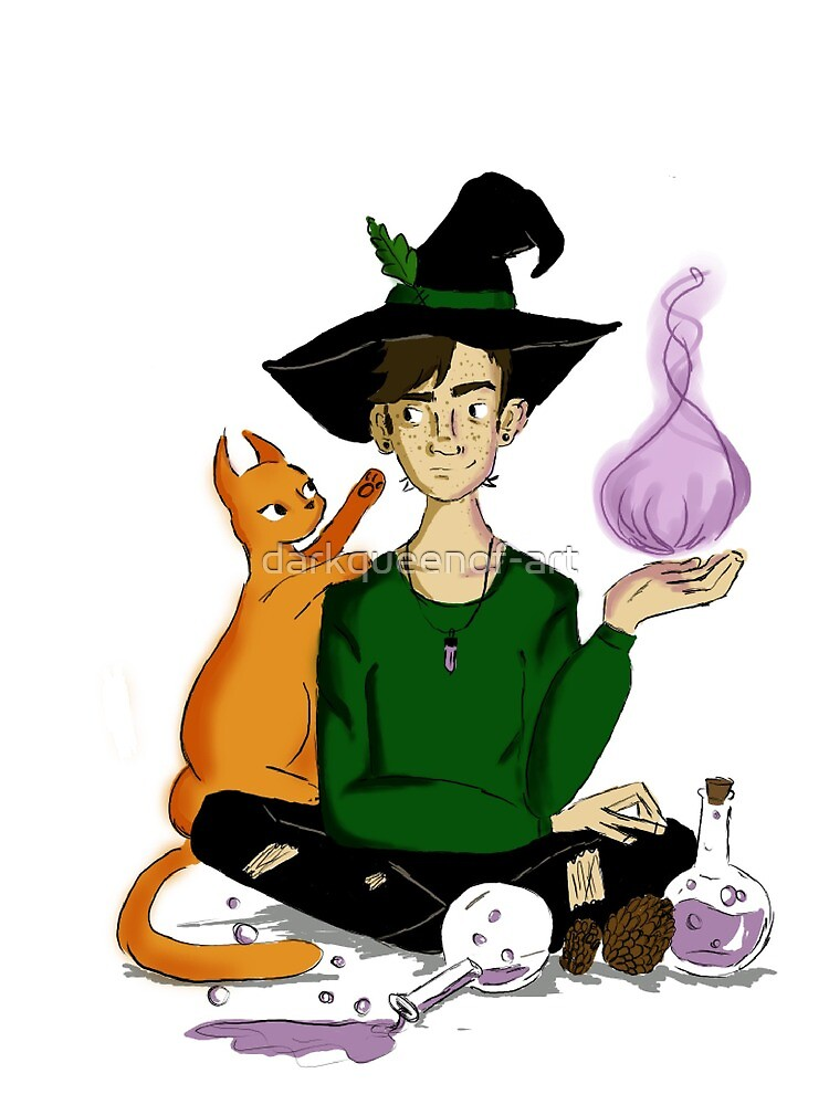 Oswald the witch by darkqueenof-art