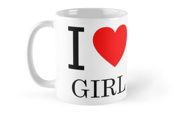 I LOVE GIRL by Zzart