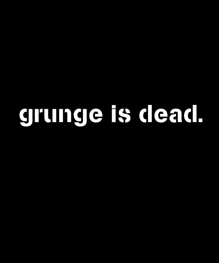 Grunge is dead 90s gift set by ShineEyePirate