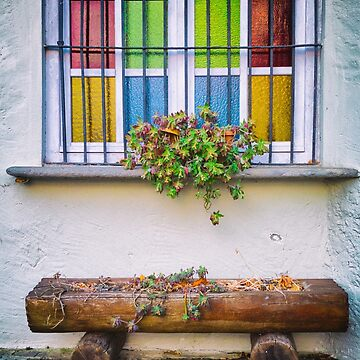 Multi-colored window by sil63