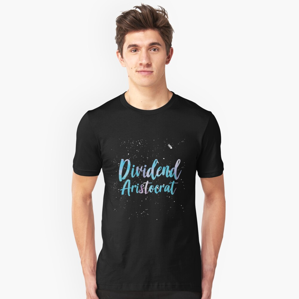 Dividend Capitalist Rational Investing Unisex T-Shirt Front