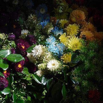 Dark Floral by JaneIzzyPhoto