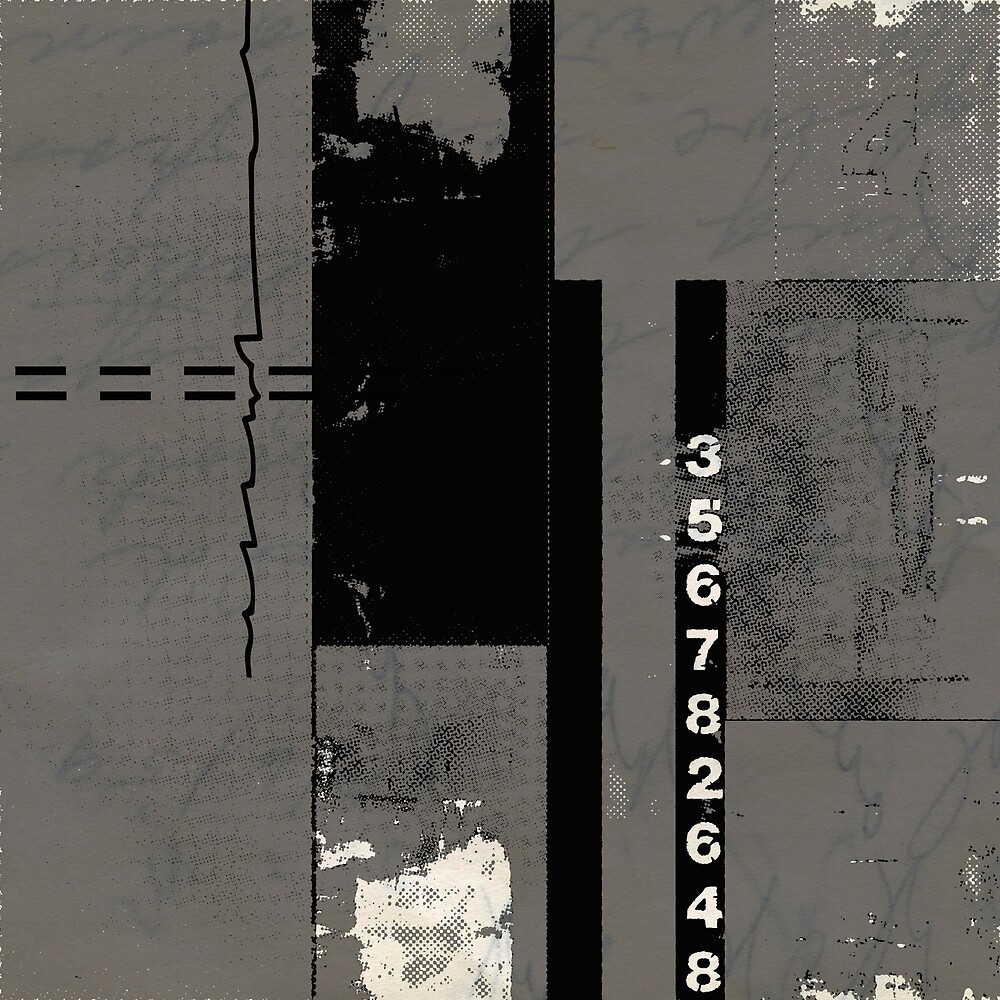 Grey black design  by MidnightSoda