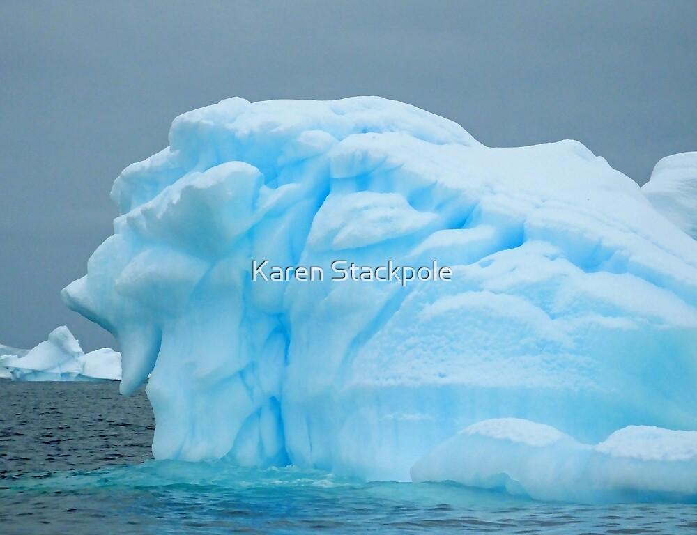 Antarctic Ice by Karen Stackpole
