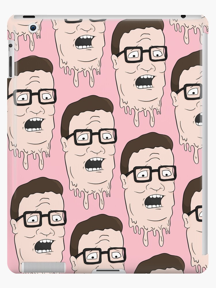 gooey pink hank hill pattern by muppetbutler