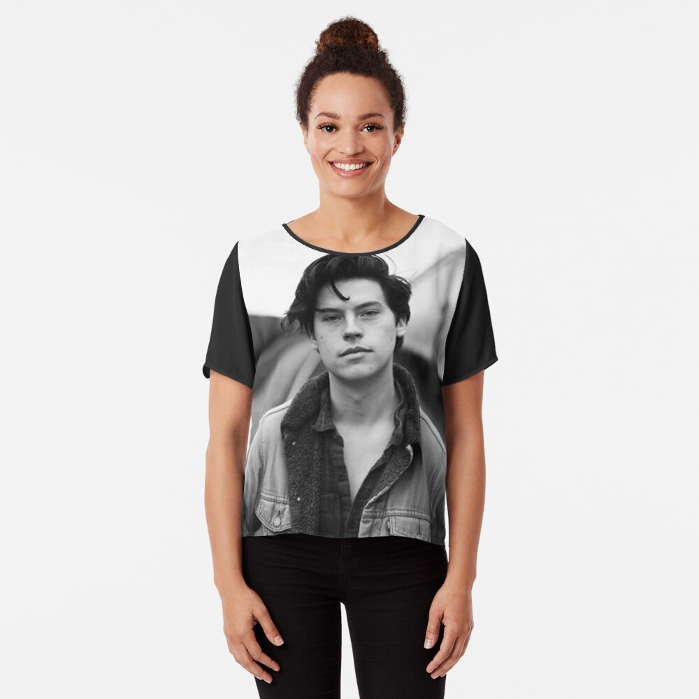 COLE SPROUSE SCHWARZWEISS Chiffon Top