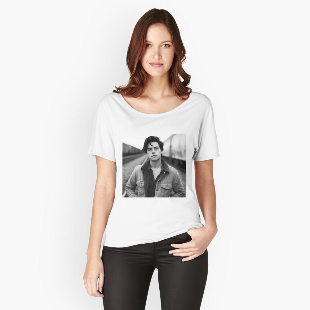 COLE SPROUSE SCHWARZWEISS Loose Fit T-Shirt
