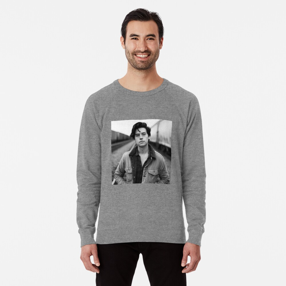 COLE SPROUSE SCHWARZWEISS Leichter Pullover