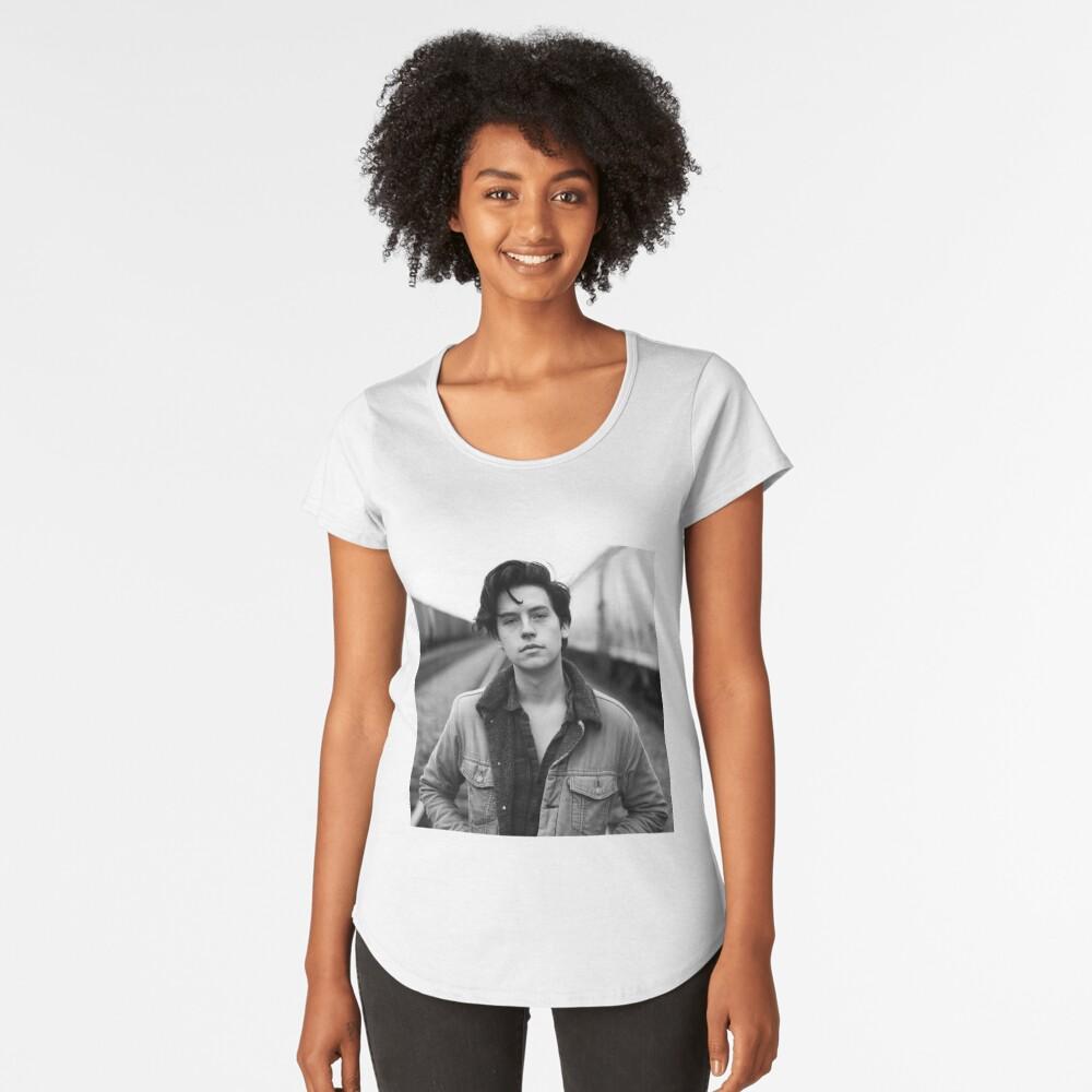 COLE SPROUSE SCHWARZWEISS Premium Rundhals-Shirt