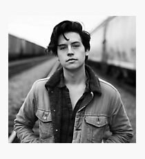 COLE SPROUSE BLACK AND WHITE Photographic Print
